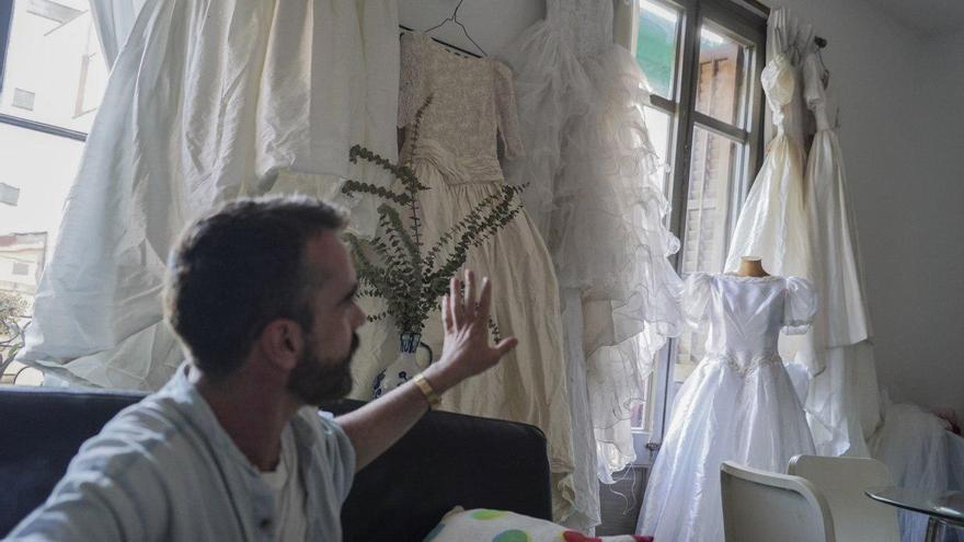 Job Polari, con su colección de vestidos de novia