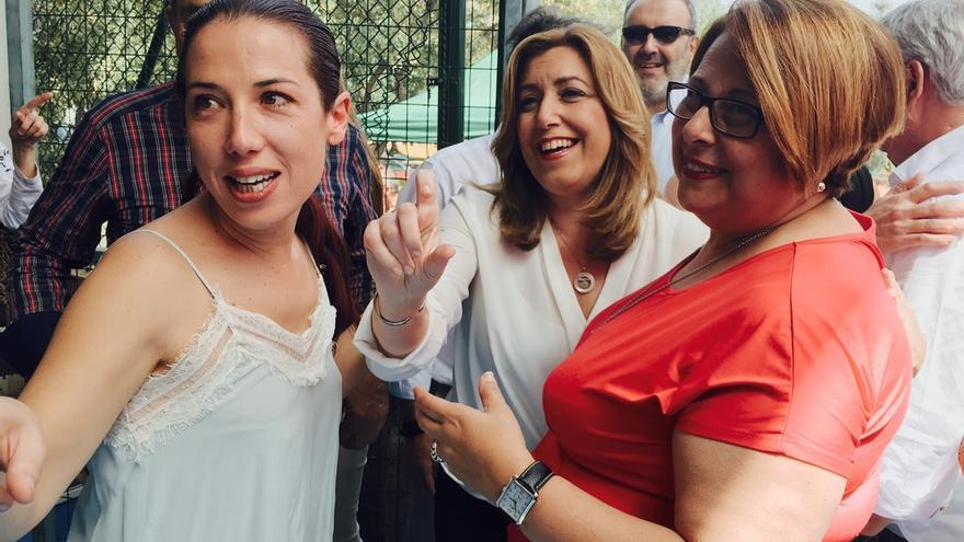 """Susana Díaz cree que """"el PSOE es mucho PSOE"""" y que va a """"salir fuerte"""" del proceso de primarias"""