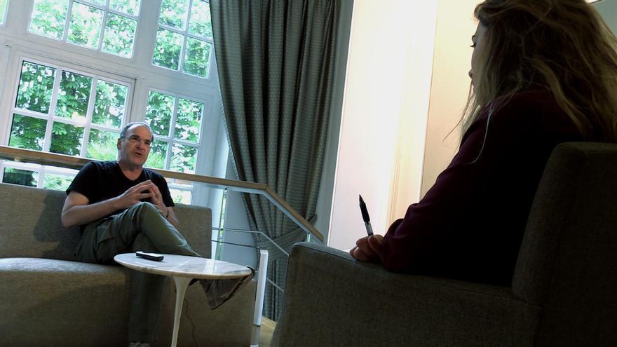 Entrevista con el actor Mandy Patinkin/ Foto: Alejandro Navarro