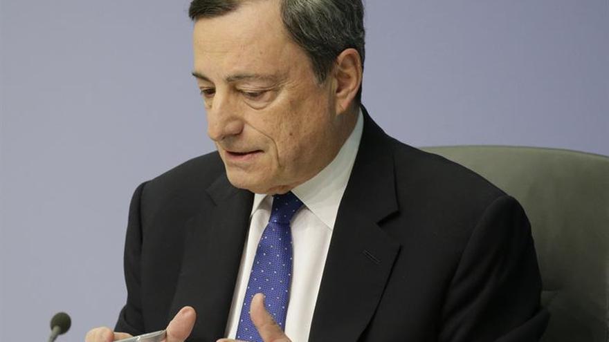 Draghi insta a facilitar la creación de empresas en la zona del euro