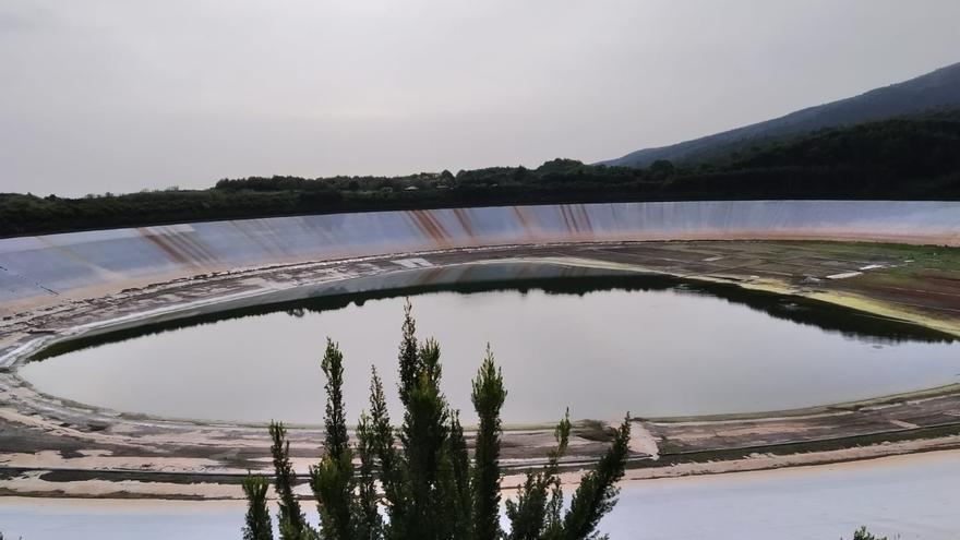 La Laguna de Barlovento, en la actualidad, al 5% de su capacidad.