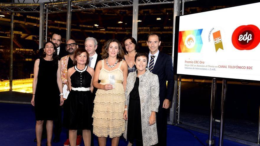 EDP, premiada por segundo año consecutivo como mejor centro de atención al cliente de España