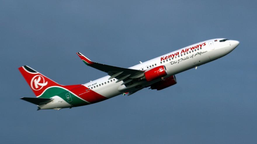 Un avión de Kenya Airways