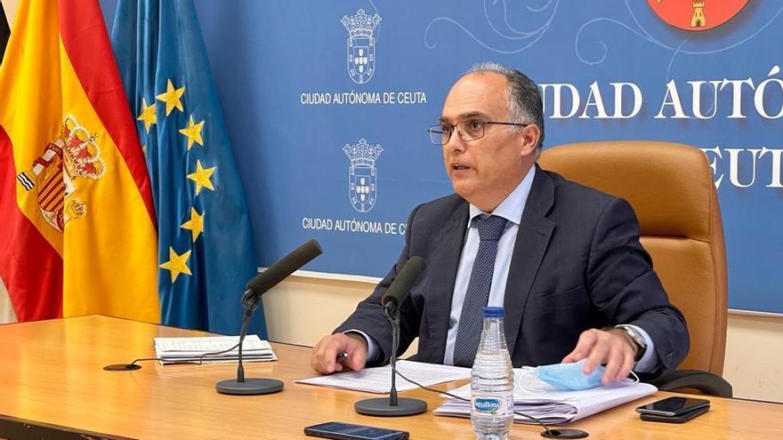 """El PP de Ceuta """"volvería a abstenerse"""" sobre declarar 'non grato' a Abascal por alinearse con """"las tesis de Marruecos"""""""