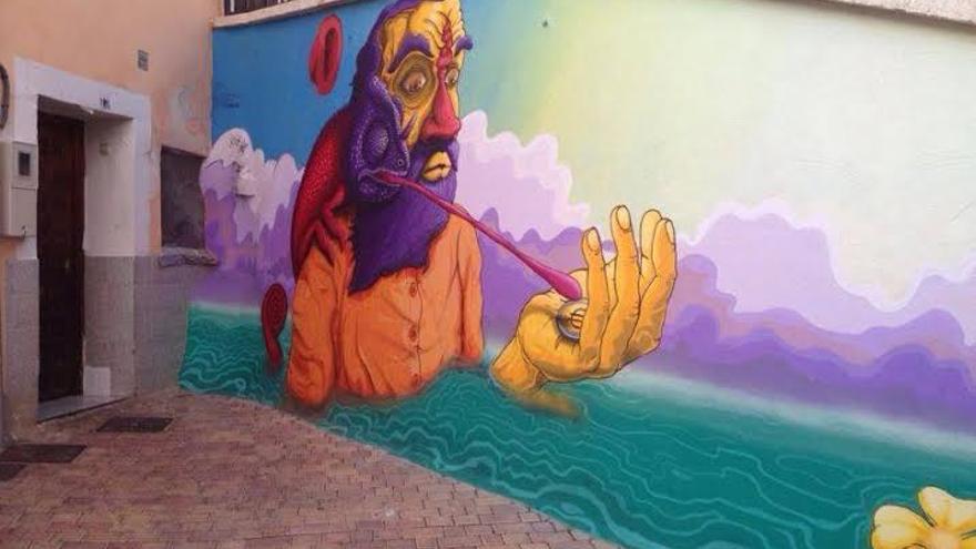 """Festival de arte urbano """"Zarajo Deluxe"""", Cuenca"""