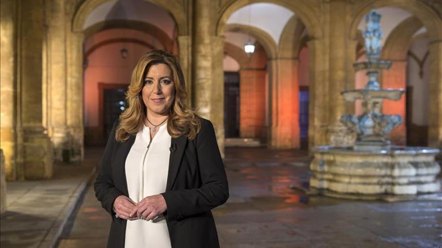 Susana Díaz apela al espíritu de la Transición para garantizar un nuevo periodo de progreso