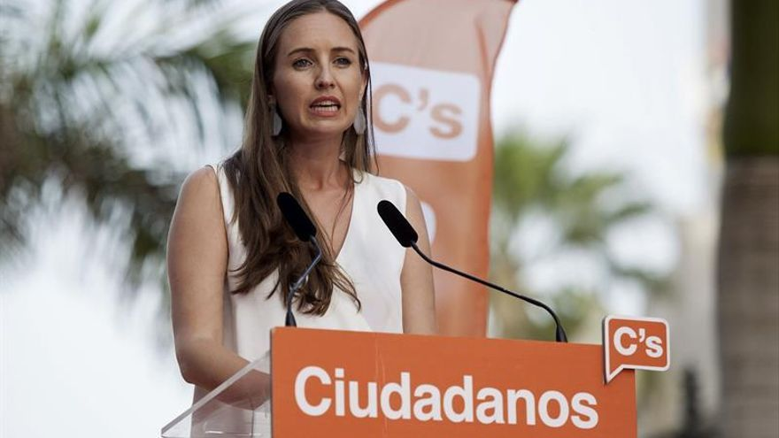 La diputada electa de Ciudadanos por Santa Cruz de Tenerife, Melisa Rodríguez  (Efe)