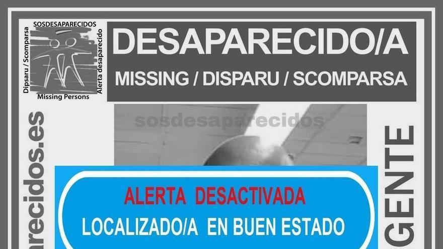 Cartel alusivo a la desaparición difundido por sos desaparecidos.