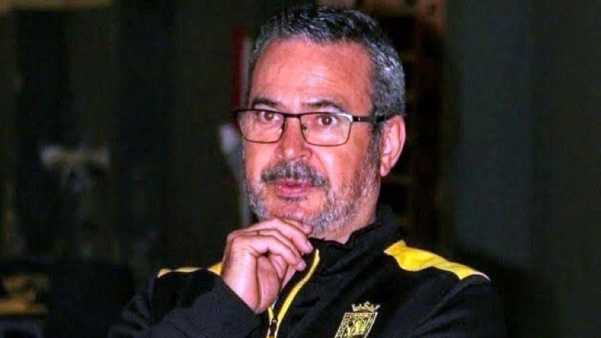 El técnico cordobés Ángel Tripiana.