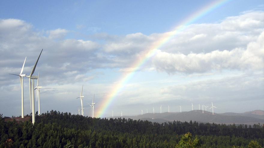 Complejo eólico de El Andévalo, en la provincia de Huelva.