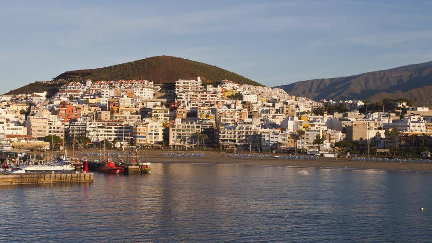 Los Cristianos, en el sur de Tenerife.