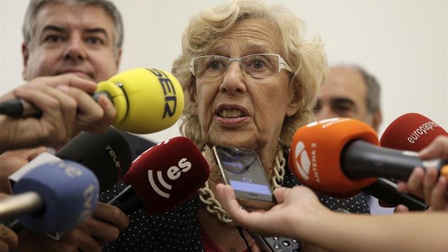 """Carmena lamenta que no haya """"todo el rechazo que debería"""" con los corruptos"""