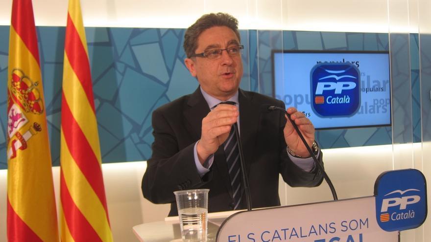 """El PP catalán pide a los Pujol no convertir su comparecencia en una """"pantomima"""""""
