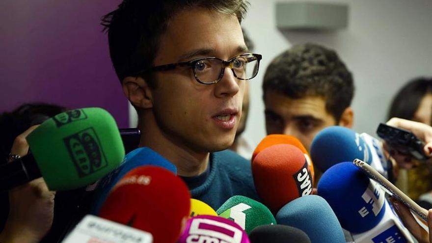 Errejón asegura no hay riesgo de ruptura en Podemos