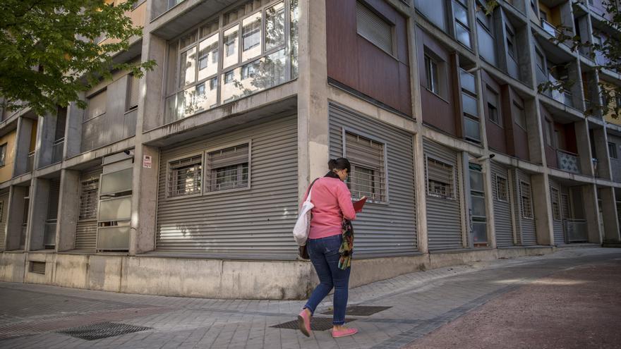 Una de las promociones de viviendas compradas por Blackstone en Carabanchel. / Olmo Calvo