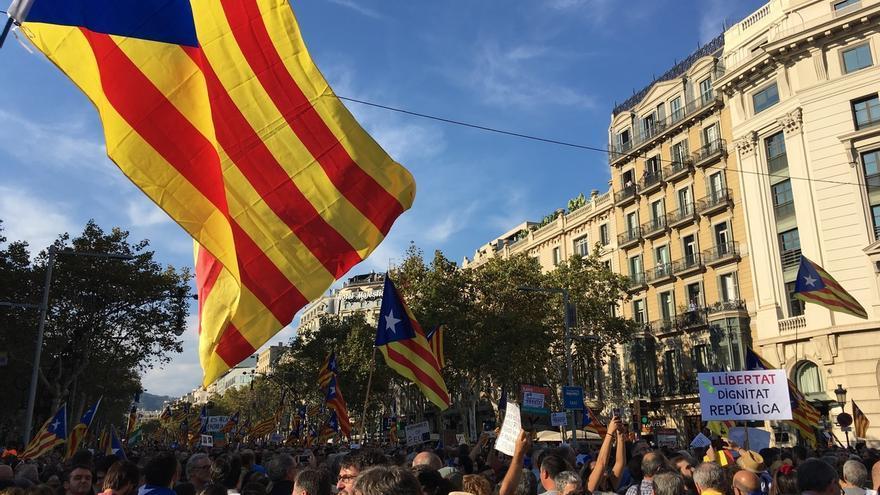 La Taula per la Democràcia rechaza el 155 y exige libertad para Sànchez y Cuixart