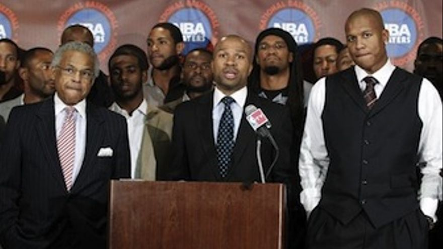 Fisher y el resto de jugadores anuncian la disolución del sindicato. (Europa Press)