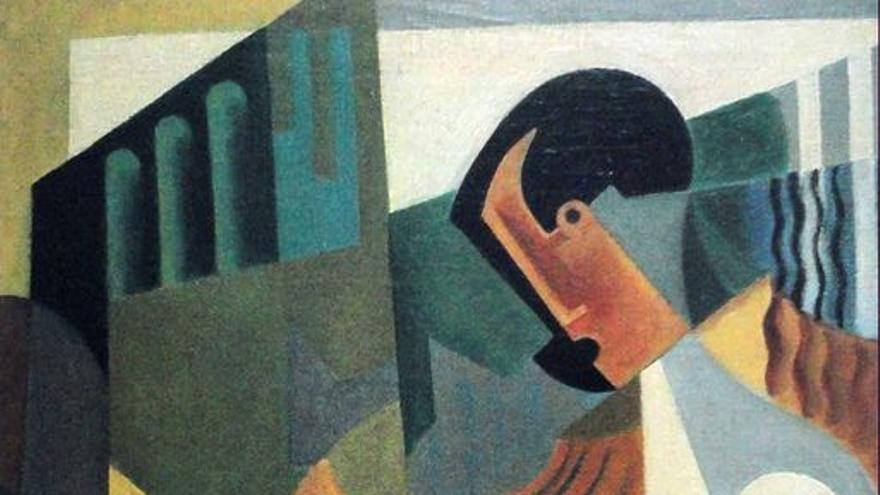 'Pianista' (1919), óleo sobre lienzo de María Blanchard.