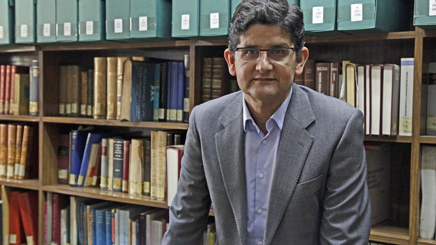 El catedrático Alfredo Menéndez de la Universidad de Granada.