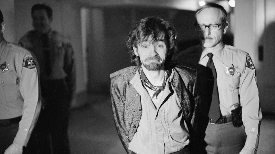 El arresto de Charles Manson el 21 de diciembre de 1970