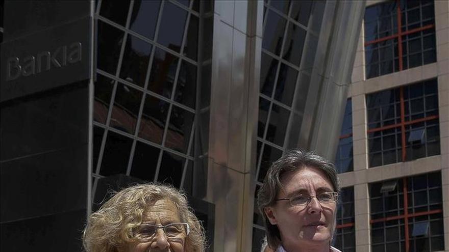 La segunda de Carmena sería Marta Higueras y Rita Maestre (Podemos), portavoz