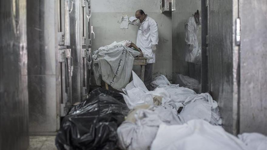 Ya son 40 muertos y 400 heridos en el barrio de Gaza bombardeado por Israel