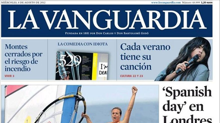 De las portadas del día (08/08/2012) #8