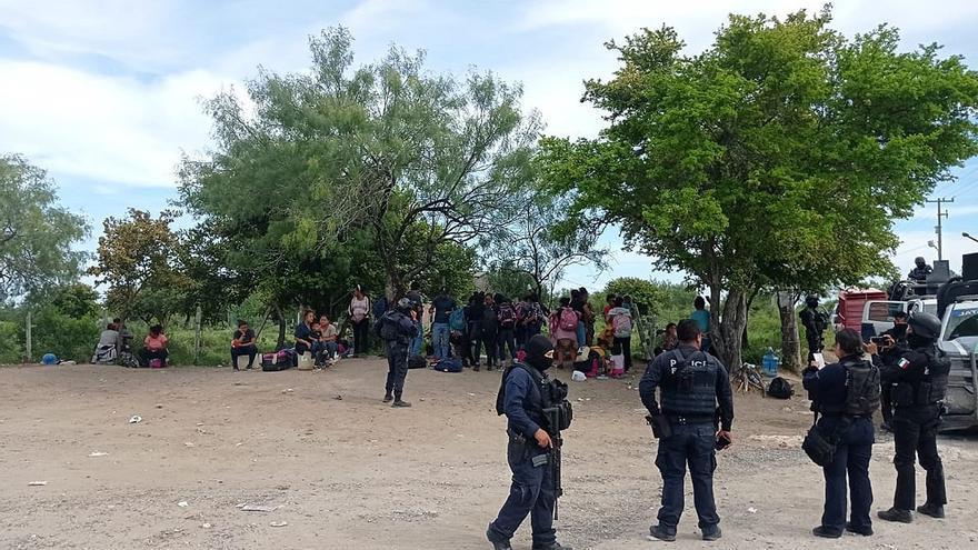 Agentes rescatan a 110 migrantes, entre ellos 356 menores, en el norte de México