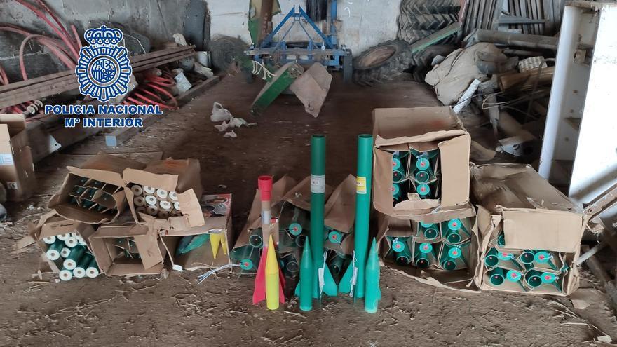 cohetes agrícolas