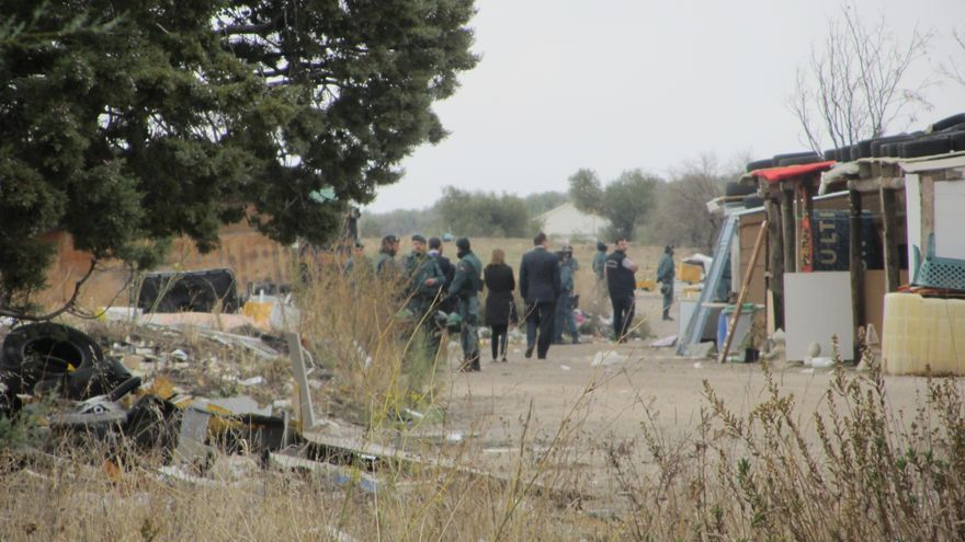 Desalojo 'El Cavero'. Foto (2): Diego Jimeno Manrique