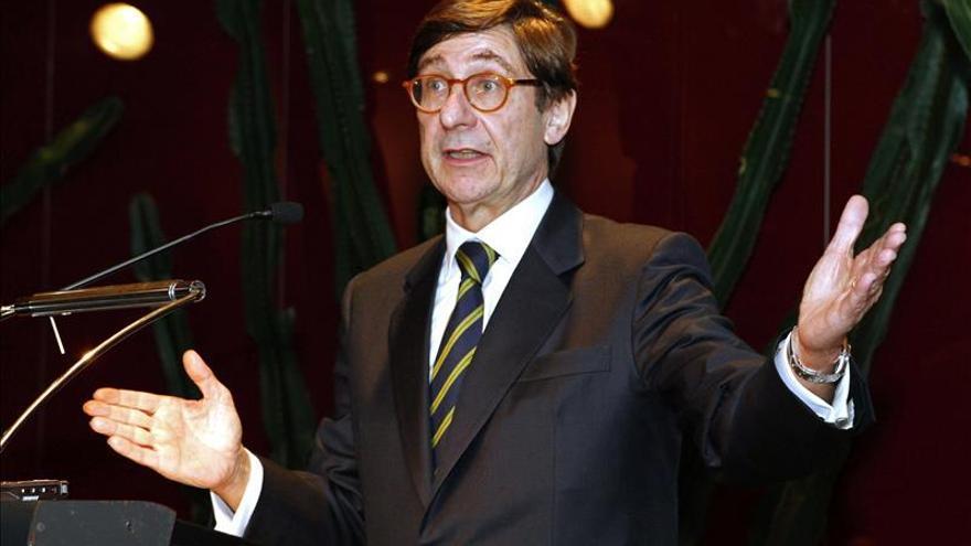 Goirigolzarri cree que el Estado venderá una nueva parte de Bankia ya en 2015