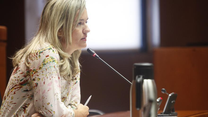La candidata del PSOE al Ayuntamiento de Zaragoza, Pilar Alegría