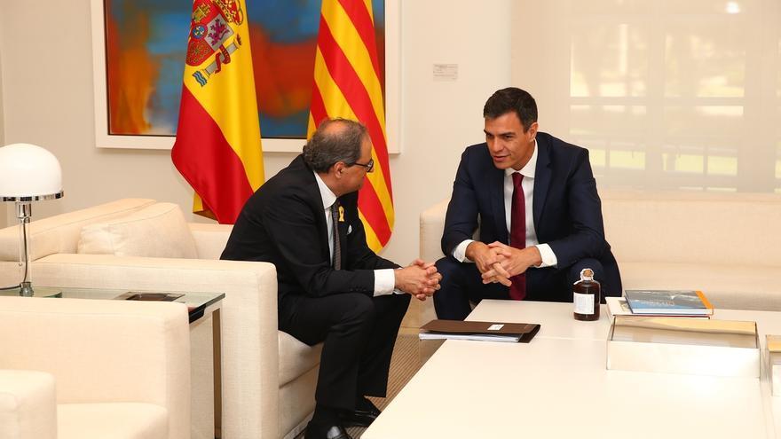 """Ciudadanos acusa a Sánchez de """"hacerle el juego"""" al Gobierno catalán con """"una minicumbre como si fueran dos estaditos"""""""