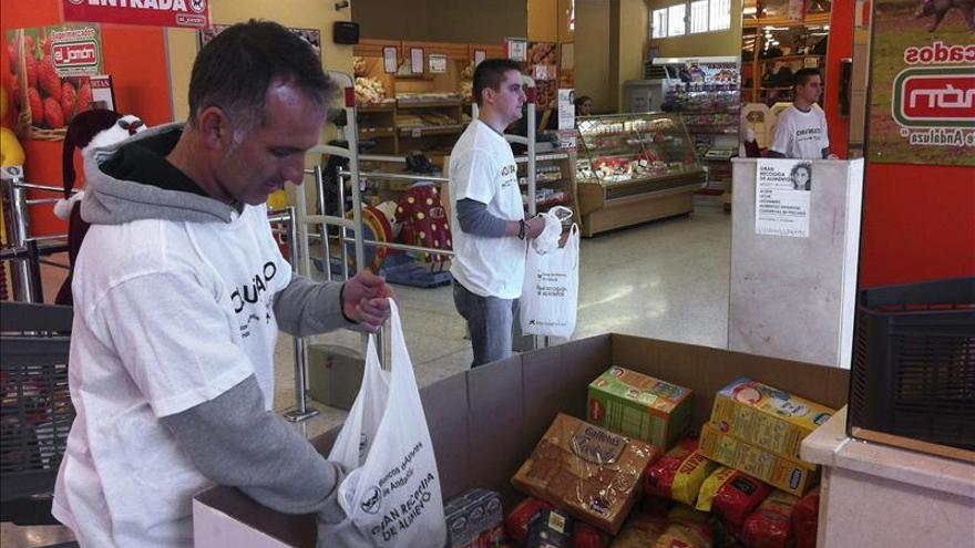El Banco de Alimentos espera recoger 20 millones de kilos de comida el fin de semana