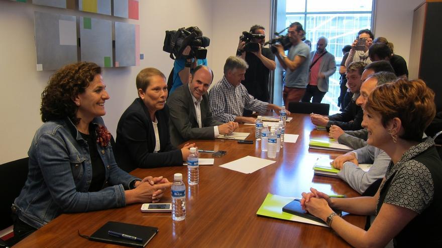 """EH Bildu: """"Podemos transmitir que va a haber cambio"""" en Navarra y la """"próxima presidenta será Uxue Barkos"""""""