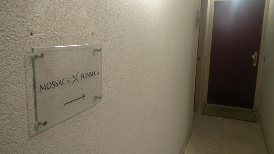 Entrada a la oficina de Mossack Fonseca en Luxemburgo. Foto: Pablo García