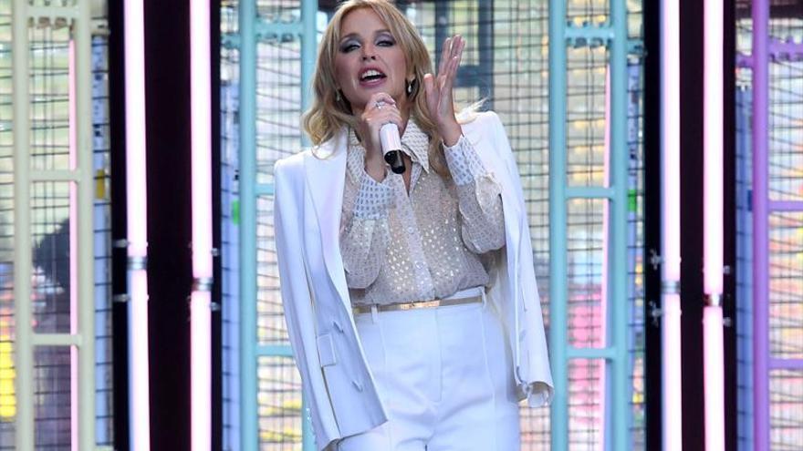 Kylie Minogue se reivindica como reina del pop en el cierre del Cruïlla