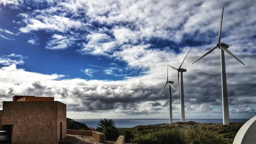 Turbinas en Granadilla de Abona, Tenerife