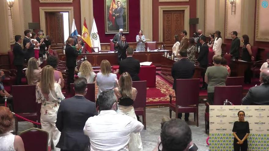 José Manuel Bermúdez (CC) recupera la alcaldía de Santa Cruz tras prosperar la moción de censura contra Patricia Hernández