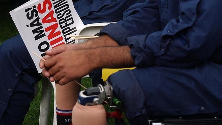 Las minas antipersona han causado 11.800 víctimas en Colombia en 25 años