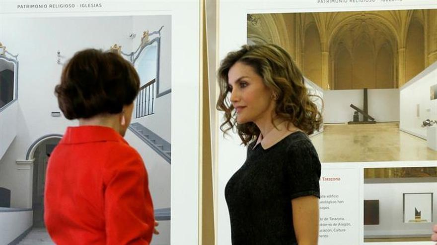 La Reina recorre 40 años de premios Europa Nostra al patrimonio español