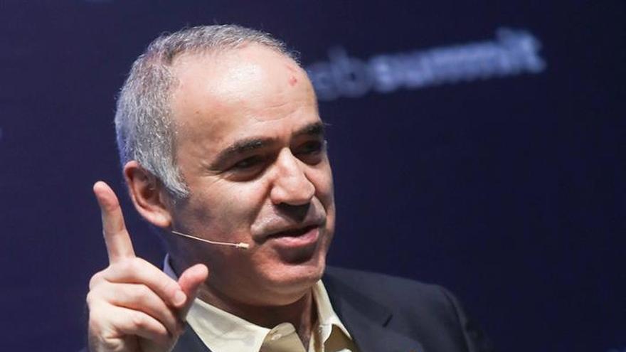 """Kasparov: """"las próximas elecciones de Rusia son una farsa"""""""