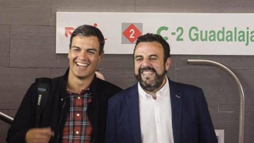 Pedro Sánchez y José Luis Blanco