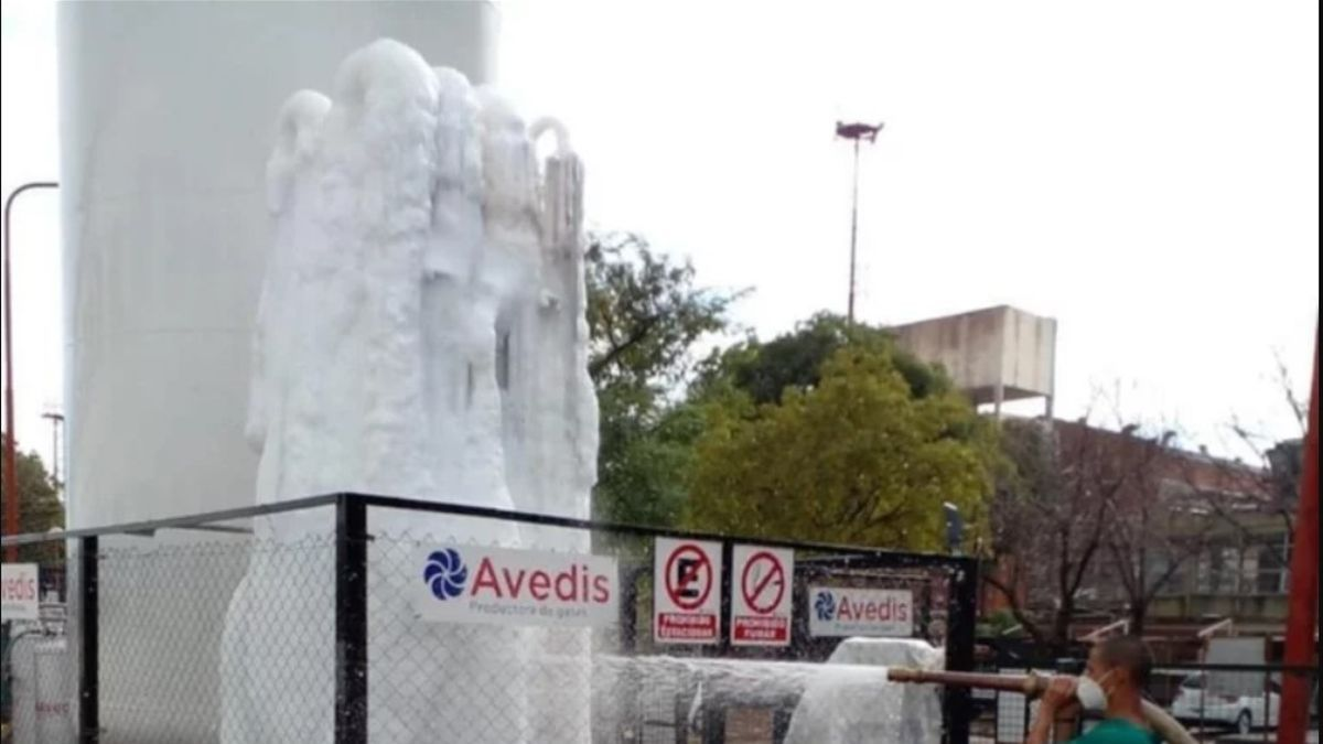 Tanques de oxígeno en Corrientes