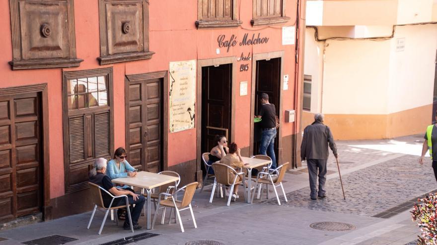 Café Melchor de Santa Cruz de La Palma.