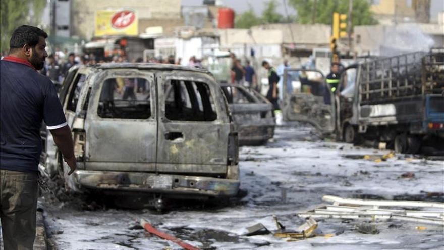 8 muertos y 30 heridos en ataque suicida contra fuerzas de seguridad en Irak