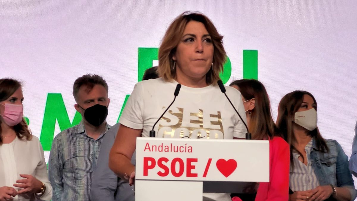 Susana Díaz anuncia que no se presentará al congreso del PSOE andaluz.