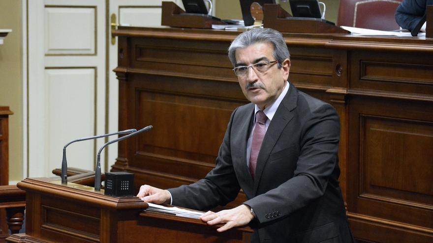 """NC ve a Clavijo como un presidente """"bronquista y rompepactos"""" que deja Canarias """"dividida"""""""