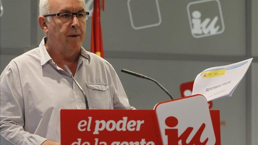 """Cayo Lara critica postura del fiscal en caso Noos,que """"deja mucho que desear"""""""