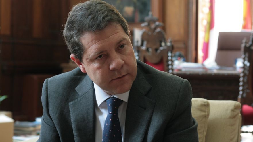Emiliano García-Page, candidato a la presidencia de Castilla-La Mancha. Foto: Francisca Bravo.